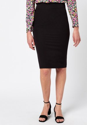SHAPEWEAR - Pencil skirt - black