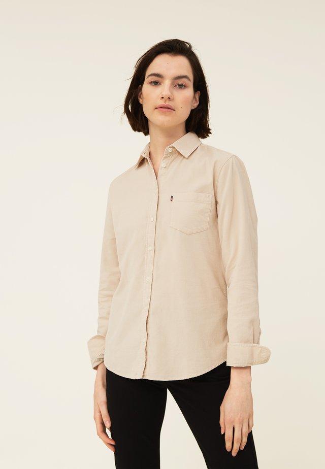 EMILY  - Skjorta - light beige