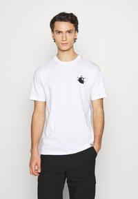 Carhartt WIP - NAILS - Print T-shirt - white/black - 0