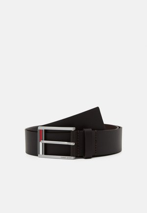 FLAG INLAY - Belt - brown