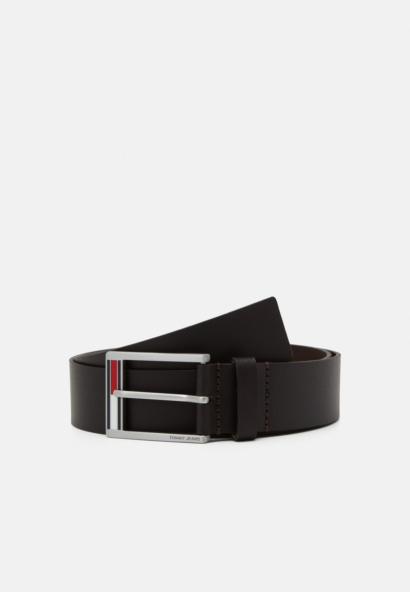 Tommy Jeans - FLAG INLAY - Belt - brown