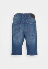 TOM TAILOR - JOSH - Denim shorts - mid stone wash denim - 1