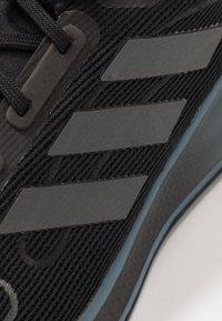 adidas Performance - GALAXAR RUN - Zapatillas de running neutras - core black/blue - 5