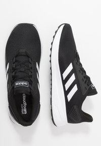 adidas Performance - DURAMO 9 - Neutrale løbesko - core black/footwear white - 1