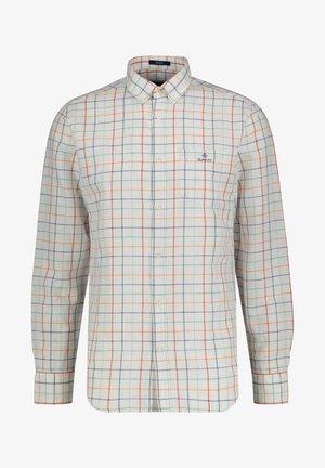 REGULAR FIT LANGARM - Shirt - weiss