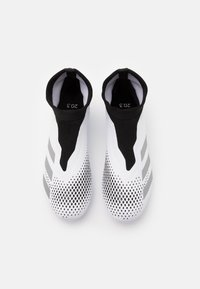 adidas Performance - FOOTBALL BOOTS FIRM GROUND - Voetbalschoenen met kunststof noppen - footwear white/silver metallic/core black - 3