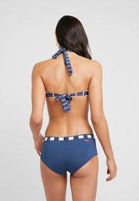 Esprit - NORTH BEACH PADDED BANDEAU - Bikini top - dark blue - 2