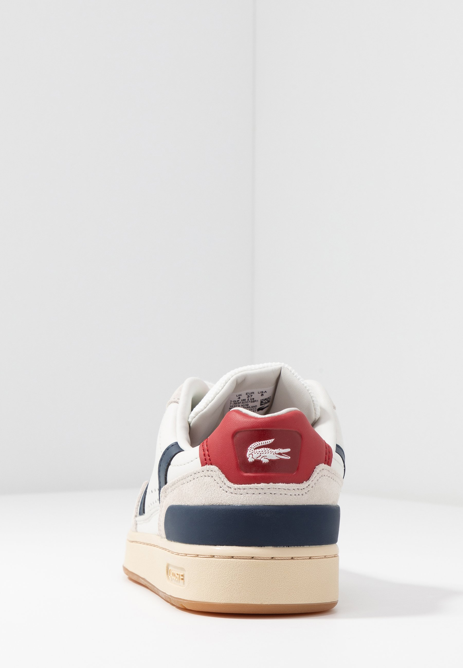 T CLIP Sneakers whitenavyred