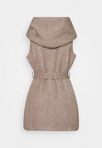 ONLY - ONLSEDONA LIGHT WAISTCOAT - Waistcoat - walnut/melange pumice stone - 1