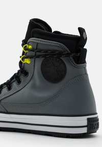 Converse - CHUCK TAYLOR ALL STAR UNISEX - High-top trainers - limestone grey/black/white - 5