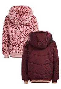 WE Fashion - Light jacket - burgundy red - 5