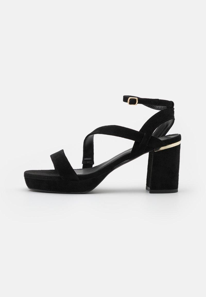 Anna Field Wide Fit - Sandály na vysokém podpatku - black