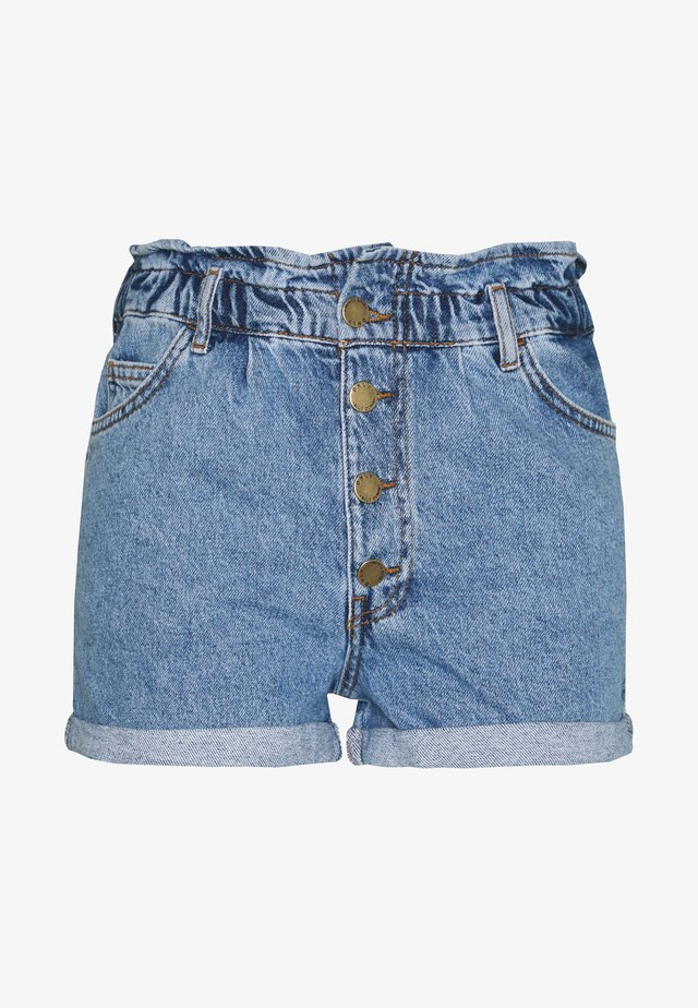 ONLCUBA LIFE  - Shorts di jeans - medium blue denim
