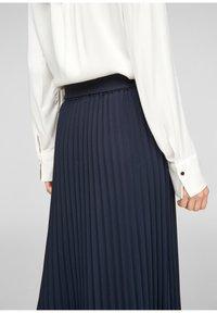 s.Oliver - A-line skirt - blue - 4