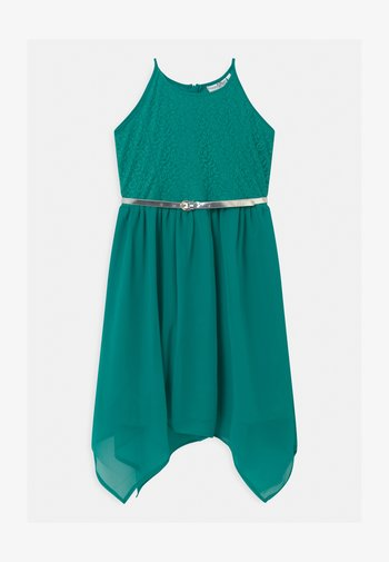 Cocktail dress / Party dress - turquoise