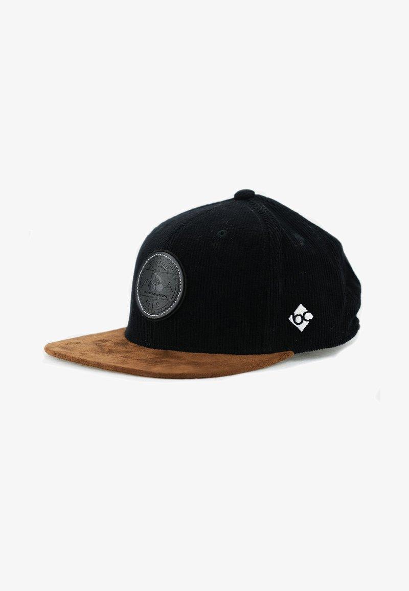 Bavarian Caps - ALPINUM GAMSKRESSE - Cap - schwarz