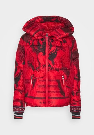 PADDED BALTO - Winter jacket - rojo abril