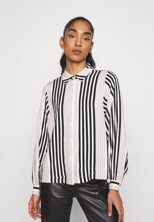 VMNIVA - Button-down blouse - ash/black/birch
