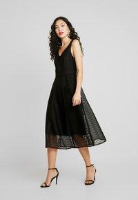 TFNC Tall - FLEUR DRESS - Sukienka koktajlowa - black - 2