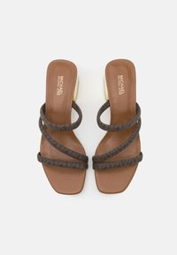 MICHAEL Michael Kors - LANA MULE - Pantofle na podpatku - brown - 3
