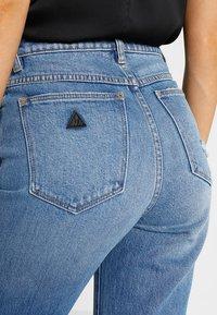 Abrand Jeans - HIGH - Slim fit jeans - blue denim - 5