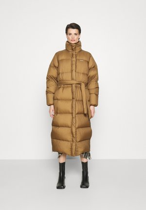RAMOEN LONG PUFFER - Down coat - light brown