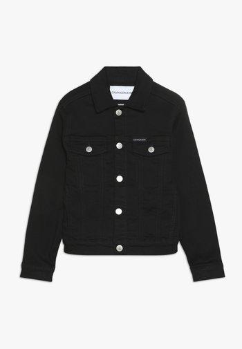 UNISEX TRUCKER - Denim jacket - black