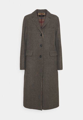 CANALE - Classic coat - dark brown