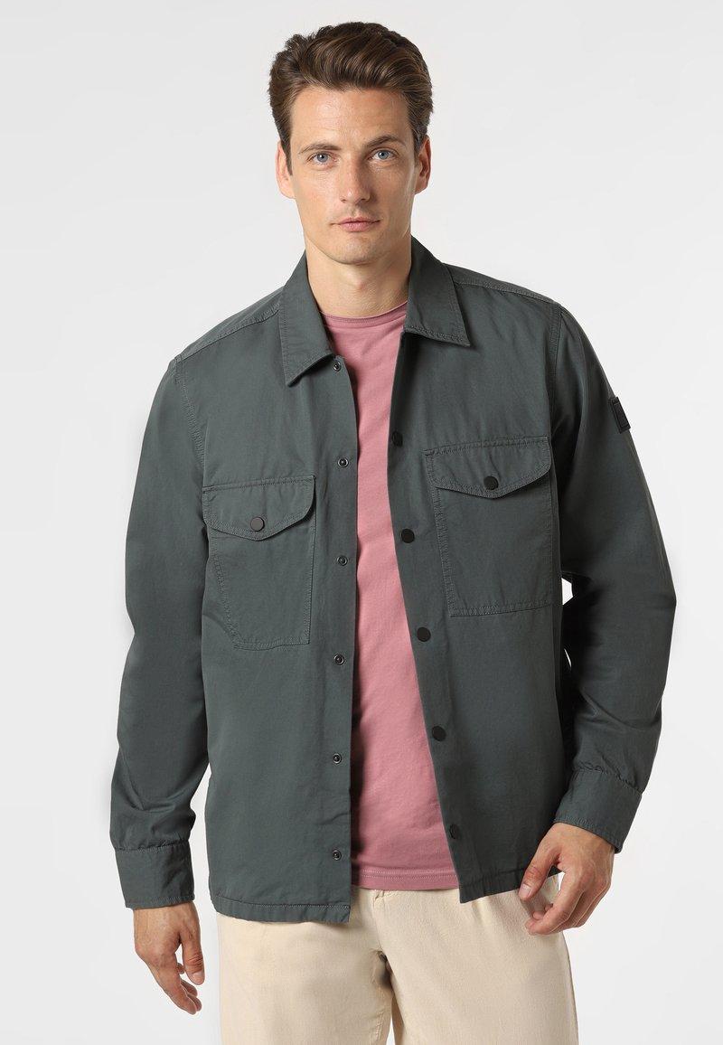 BOSS - Summer jacket - tanne
