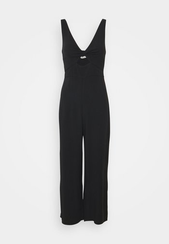 TWIST FRONT CUTOUT  - Overal - black solid