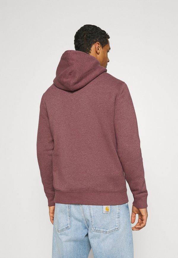Abercrombie & Fitch ICON - Bluza z kapturem - burgund/bordowy Odzież Męska BWHQ