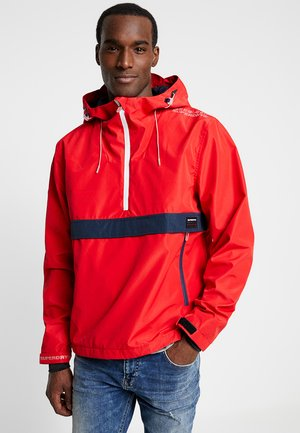 OVERHEAD ELITE WINDCHEATER - Windbreaker - tomato red
