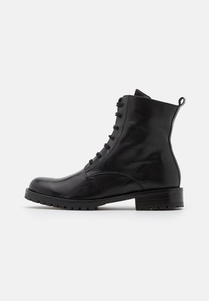 GERUSALEMME - Lace-up ankle boots - nero