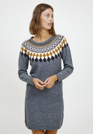 FRCEISLAND - Strikket kjole - bering sea mix