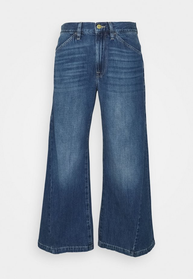 LE PIXIE BAGGY PALAZZO - Jeans a zampa - light blue