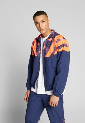 GRAPHICS SPORT INSPIRED TRACK TOP - Verryttelytakki - blue