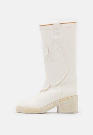 STIVALE - Cowboy/Biker boots - white