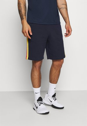 SHORT - Short de sport - navy blue/marine/white