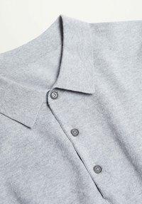 Mango - ANDREW - Poloshirt - medium heather grey - 7