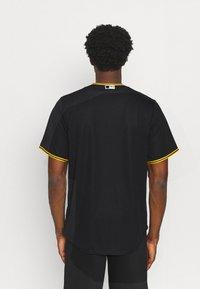 Nike Performance - MLB PITTSBURGH PIRATES OFFICIAL REPLICA ALTERNATE - Club wear - pro black - 2