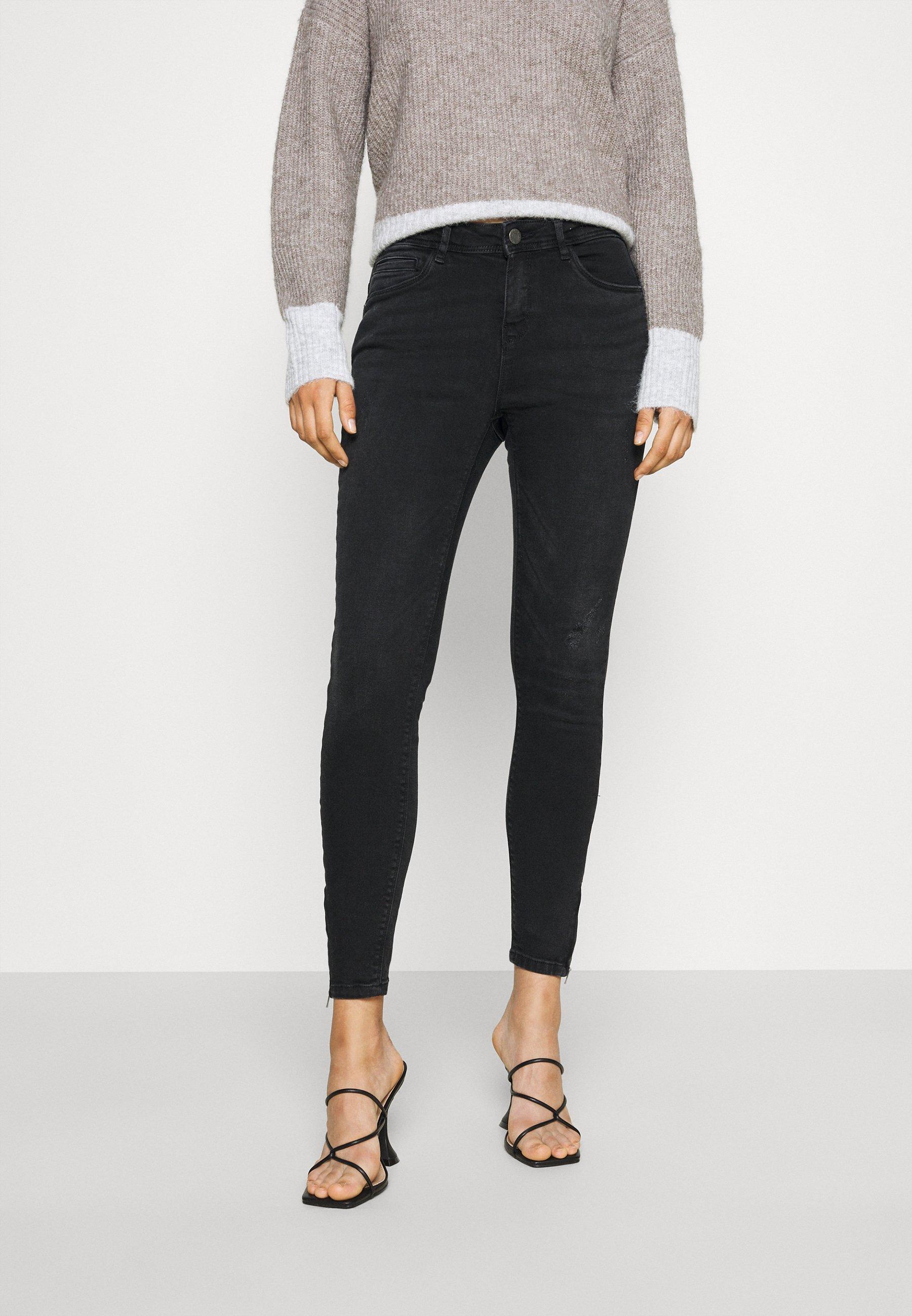 Women NMKIMMY ANK DART - Jeans Skinny Fit