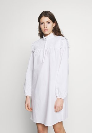ROSIE FUSINE SHIRT DRESS - Denní šaty - snow white