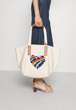 THE BAG TOTE SET - Tote bag - natural/acorn