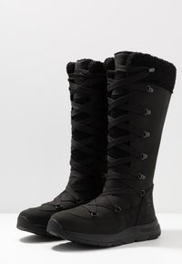 Timberland - MABEL TOWN WP TALL MUKLUK - Lace-up boots - black - 4