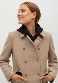 Mango - BOMBONS - Manteau classique - medium brown - 3