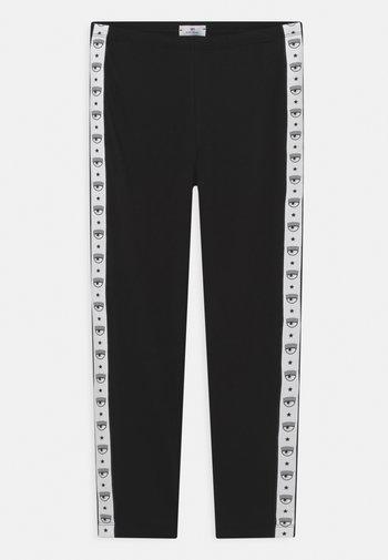 LOGOMANIA - Leggings - Trousers - nero
