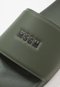 MSGM - Mules - army - 5