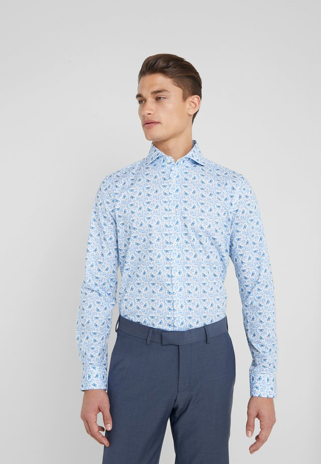 Camicia elegante - blue print
