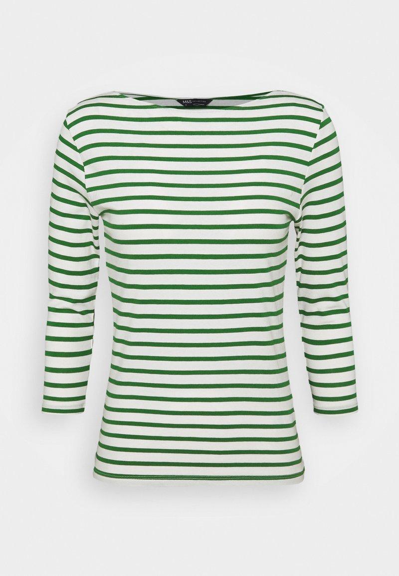 Marks & Spencer London - SLASH  - Long sleeved top - green