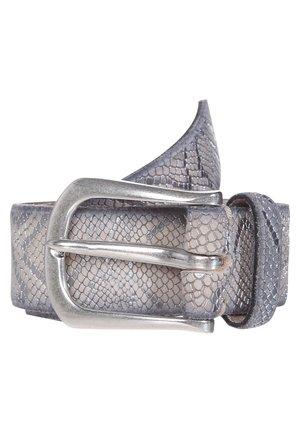 Belt - vanille metallic